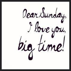 Sunday ♡