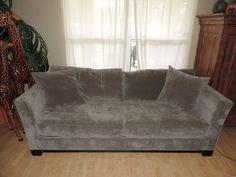 Macy's Elliot Graphite Microfiber Sleeper Sofa Bed*WE SHIPA NYWHERE*  #Macys #Modern