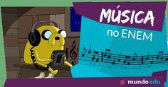 Música no ENEM! #ENEM #MundoEdu #MundoFísica #Música #Física