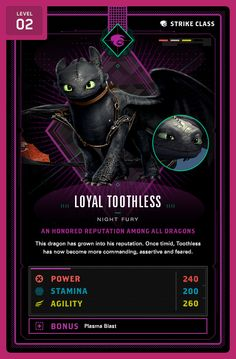 Loyal Toothless