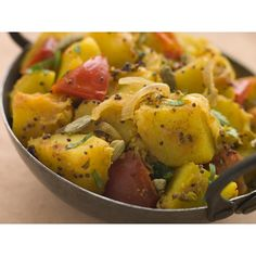 Buy ingredients for Bombay Aloo & Bombay Potatoes online from Spices of India - The UK& leading Indian Grocer. Free delivery on Bombay Aloo & Bombay Potatoes Ingredients (conditions apply). Curry Recipes, Potato Recipes, Vegetarian Recipes, Cooking Recipes, Healthy Recipes, Ww Recipes, Popular Recipes, Bombay Potato Recipe, Batata Potato