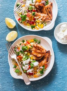 3 super tasty dishes with a lot of taste and low calories - Salad Recipes Pasta Recipes, Salad Recipes, Low Calorie Salad, Healthy Drinks, Healthy Recipes, Honey Chicken, Tasty Dishes, Diabetes, Food And Drink