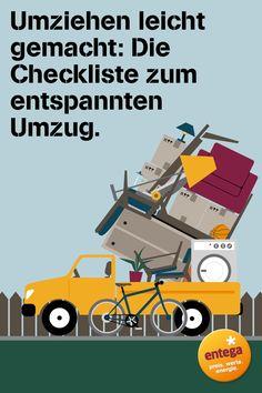 Diese praktische #Checkliste hilft dir, deinen #Umzug gut zu #planen und zu…
