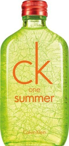 Calvin Klein One Summer Eau De Toilette Spray for Unisex, 3.4 Ounce by Calvin Klein. $35.53. Fragrance Notes: cucumber, cardamom, hedione, watermint, moss, musk, blonde woods, watermelon. Design House: Calvin Klein. Recommended Use: casual. Find all the sun's energy in this bottle. A unisex fragrance to share all summer.
