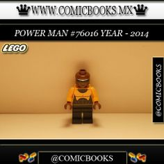 Power Man from LEGO set #76016 You can buy this LEGO toy at: www.comicbooks.mx Also follow us on Instagram: comicbooks, sundaycomics and sportscards