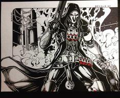 Overwatch - Reaper by TheDawnIsNear.deviantart.com on @DeviantArt