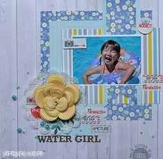 water girl - Scrapbook.com