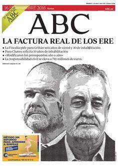 La portada de ABC del viernes 16 de septiembre