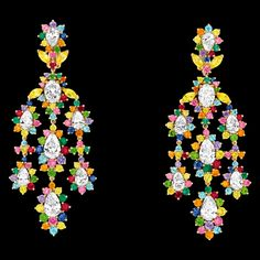 Earrings from the Dior's Cher Dior Collection! http://www.dior.com/