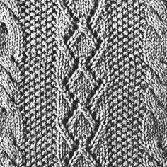 Knitting Pattern Square No. 58, Volume 34 | Free Patterns | Yarn
