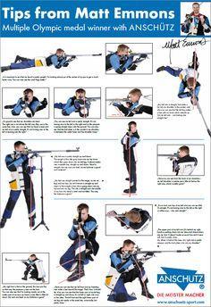 Matt Emmons Anschutz 3P three position shooting tips
