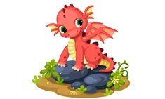 Cartoon Dragon, Adobe, Baby Dragon, Dragon Art, Bowser, Minnie Mouse, Disney Characters, Fictional Characters, Character Design