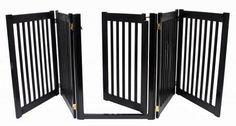 Which you like best? Walk Through 5 Pa...  Check it out here : http://www.allforourpets.com/products/walk-through-5-panel-free-standing-pet-gate-black