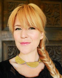 DIY Kate Spade Scallop Necklace