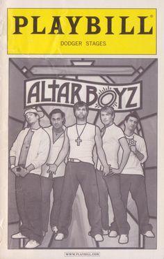 Amateur rights to altar boyz