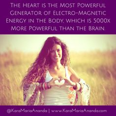 How the Power of Your Heart Can Bring You Peace, Health & Happiness