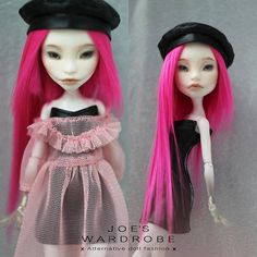 """Handmade Monster doll clothes high fashion outfit Collection """"WILD BEAUTY"""", for Monster High/Ever After High"""