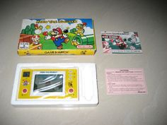 Nintendo Game & Watch Mario The Juggler 1991 Complete In Box Excellent Cond | eBay