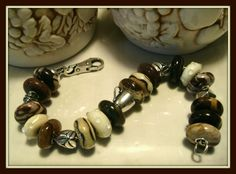 Morning Caffe!  Great COFFEE theme inspired bracelet!!! From our Forum! http://trollbeadsgalleryforum.ning.com/