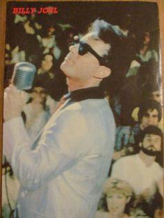 Billy Joel, Full Page Vintage Pinup 1970s Music, Billy Joel, Pinup, Painting, Ebay, Vintage, Art, Art Background, Painting Art