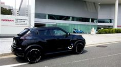 #Nissan #Juke in front of Nissan World Headquarters.
