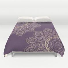Lavender Tulips Duvet Cover