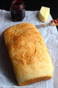 Pan Aliñado Colombiano (Seasoned Colombian Bread)  mycolombianrecipes.com
