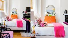Bright & gorgeous bedroom | Katie Rosenfeld Design