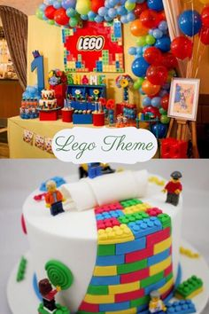 Simple 1st Birthday Party Boy, 1 Year Old Birthday Party, Boys 1st Birthday Party Ideas, First Birthday Themes, Party Themes For Boys, 1st Boy Birthday, First Birthdays, Lego Themed Party, Survival Guide