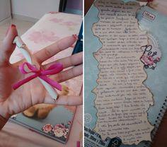 Carta na garrafinha | Namorada Criativa - Por Chaiene Morais