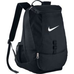 39910f6e3e Nike Club Team Swoosh Soccer Backpack. Gym BackpackRucksack BagBlack ...