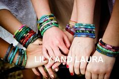 LILY AND LAURA BRACELETS