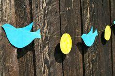 Make it :: Bird Garland from FamilyFun's Everyday Fun blog