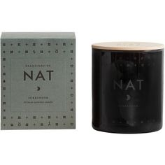 SKANDINAVISK Nat Scented Candle with Lid (58 BAM) found on Polyvore featuring home, home decor, candles & candleholders, scented votive candles, scented votives, lit candle, scented candles and floral home decor
