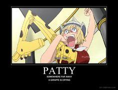 Patty Motivational Poster by Kaori18.deviantart.com on @deviantART