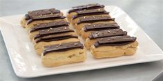 Try this Salted Caramel and Chocolate Éclairs  recipe by Chef Jasmin.This recipe is from the show The Great Australian Bake Off.