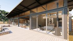 House Thor is a contemporary holiday home to be built on a beautiful life style game farm near Hertzogville. Designed by Blunt Architects. Life Is Beautiful, Thor, Contemporary, Building, House, Furniture, Design, Home Decor, Homemade Home Decor