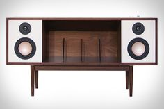 Inspired by furniture designs from the 1950's and 60's, the folks at Department Chicago recently unveiled this beautiful throwback Hi-Fi Console. It's made from select Maple and Walnut hardwood solids for the best sound possible and comes with an adjustable...
