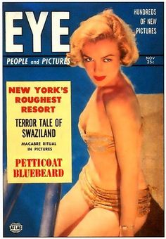 MARILYN MONROE magazine covers 1950s - Google Search