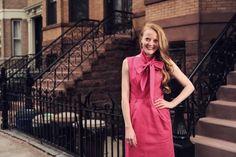 Maja Svensson, creator of @ELSA AND ME, created an eco friendly, ethically produced line of dresses for working women! I own two! #ethicalfashion #ecofashion #NYfashion #elsaandme