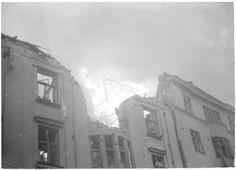 Helsinki. Ilmapommituksen tuhoja