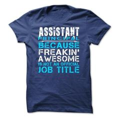 Assistant Principal - #gifts #gift. BUY TODAY AND SAVE => https://www.sunfrog.com/LifeStyle/Assistant-Principal-RoyalBlue.html?68278