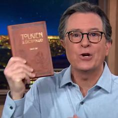 Colbert Gives Trump-Supporting QAnoners Something Else To Believe In I Promise You, Stephen Colbert, Something Else, Believe