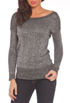 Heart-N-Crush Ladder Back Top in Black and Grey Combo - Beyond the Rack