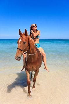 Going horseback riding along the beach - I've ALWAYS wanted to do this - and I'll be able to after surgery.