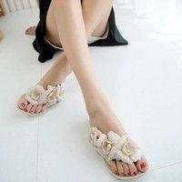 Department Name: Adult Item Type: Sandals Shoe Width: Medium(B,M) Process: Vulcanized Platform Heigh