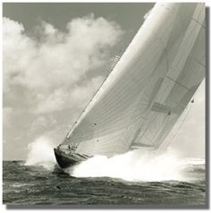 Michael Kahn is a sailing and seascape photographer using traditional black and white film. View his amazing sailboat photography here in portfolio format. Beach Scene Pictures, Sailing Pictures, Great Pictures, Marine Photography, Art Photography, Adventure Photography, Luxury Sailing Yachts, Classic Sailing, Lighthouse Pictures