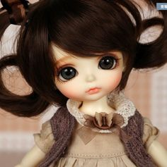 BJD SD 1//8 Doll Toad bare dolls without any make up Black Skin
