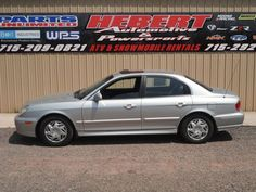 2003 HYUNDAI SONATA 94k V6   8.5 rating, KellyBB $3200-4200