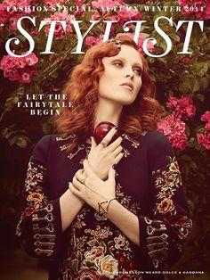 Karen Elson - Stylist Magazine UK September 2014 Cover